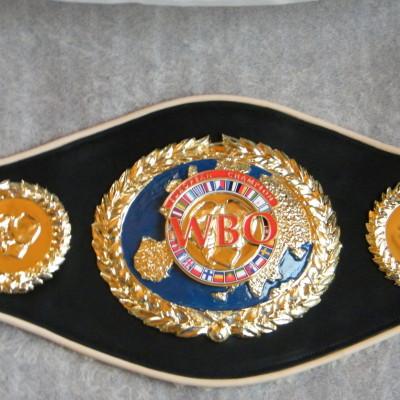 WBO egyedi bokszöv