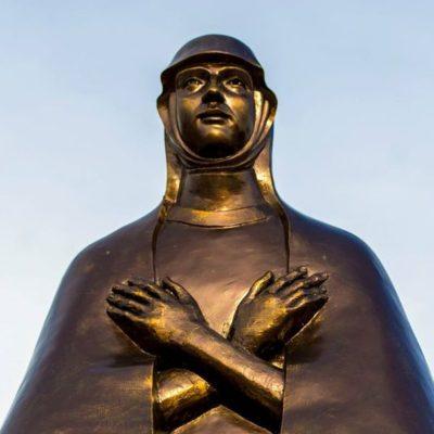 Szűz Mária szobor Legyesbénye