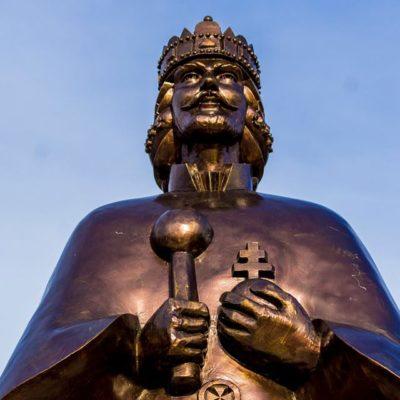 Szent István szobor Legyesbénye