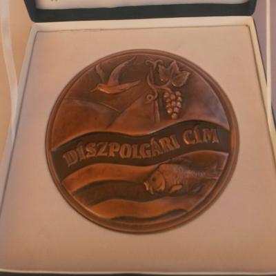 díszpolgári kitüntetés